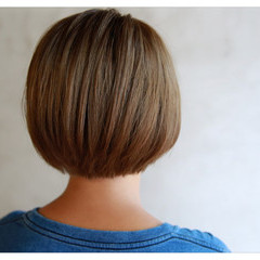 ベージュ ショート 外国人風 透明感 ヘアスタイルや髪型の写真・画像
