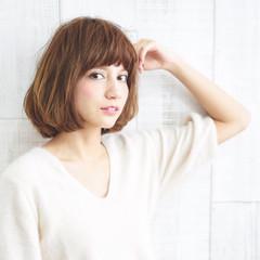 前髪あり ゆるふわ ストリート 大人かわいい ヘアスタイルや髪型の写真・画像