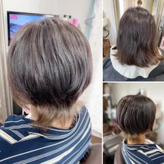 ネオウルフ ベリーショート ショート ショートボブ ヘアスタイルや髪型の写真・画像
