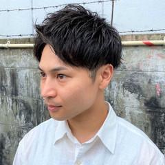 メンズヘア メンズパーマ ショート ストリート ヘアスタイルや髪型の写真・画像