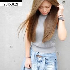 愛され ロング 渋谷系 外国人風 ヘアスタイルや髪型の写真・画像