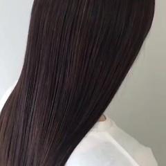 ナチュラル ヘアアレンジ ストレート ロング ヘアスタイルや髪型の写真・画像