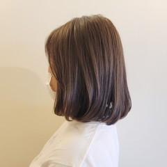 ブラントカット ヘアカット ワンカール ワンカールスタイリング ヘアスタイルや髪型の写真・画像