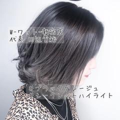 ブリーチなし ナチュラル 外国人風カラー イルミナカラー ヘアスタイルや髪型の写真・画像
