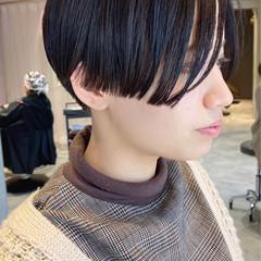 ハンサムショート ショートヘア 前下がりショート 大人ショート ヘアスタイルや髪型の写真・画像