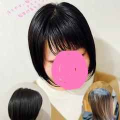 ショートボブ 大人女子 エレガント 切りっぱなしボブ ヘアスタイルや髪型の写真・画像