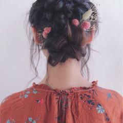 外国人風 デート モテ髪 ヘアアレンジ ヘアスタイルや髪型の写真・画像