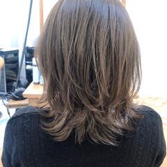 ウルフカット 切りっぱなしボブ デジタルパーマ ナチュラルデジパ ヘアスタイルや髪型の写真・画像