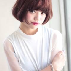 大人かわいい ショート ガーリー 秋 ヘアスタイルや髪型の写真・画像