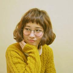 ふわふわ ゆるふわ ガーリー ボブ ヘアスタイルや髪型の写真・画像