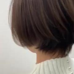 ショートボブ 簡単スタイリング ショートヘア ミニボブ ヘアスタイルや髪型の写真・画像