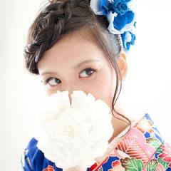 女子力 成人式 フェミニン 結婚式 ヘアスタイルや髪型の写真・画像