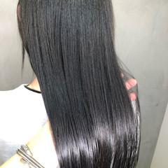 ナチュラル オフィス ツヤ髪 ロング ヘアスタイルや髪型の写真・画像