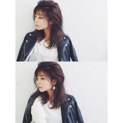 レイヤーカット 外国人風 ハイライト グラデーションカラー ヘアスタイルや髪型の写真・画像
