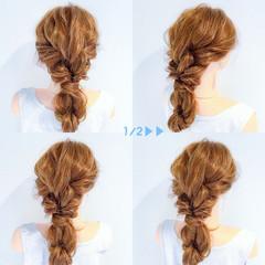 エレガント 上品 女子会 簡単ヘアアレンジ ヘアスタイルや髪型の写真・画像