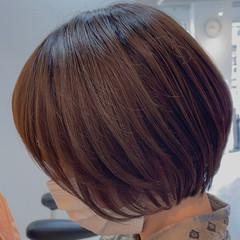 ボブ 切りっぱなしボブ ショートヘア ウルフカット ヘアスタイルや髪型の写真・画像