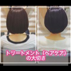 ミディアム ナチュラル 髪質改善カラー 髪質改善トリートメント ヘアスタイルや髪型の写真・画像