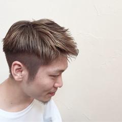 ショート アッシュ メンズ 外国人風 ヘアスタイルや髪型の写真・画像