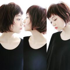 大人女子 大人かわいい 小顔 オフィス ヘアスタイルや髪型の写真・画像