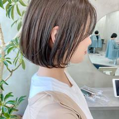 デート ナチュラル ゆるふわ ベリーショート ヘアスタイルや髪型の写真・画像