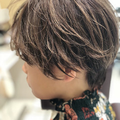 色気 ショート ナチュラル 前髪あり ヘアスタイルや髪型の写真・画像