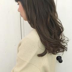グラデーションカラー ゆるふわ ベージュ ピンク ヘアスタイルや髪型の写真・画像