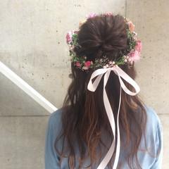 セミロング 結婚式 成人式 ヘアアレンジ ヘアスタイルや髪型の写真・画像