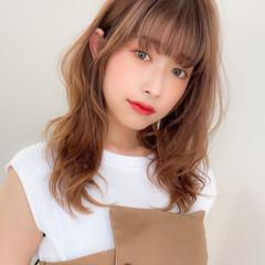 ゆるふわパーマ モテ髪 アンニュイほつれヘア 大人可愛い ヘアスタイルや髪型の写真・画像