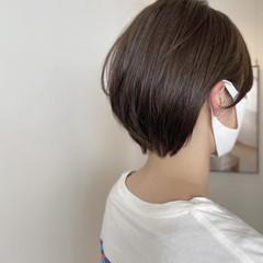 マッシュショート ベリーショート ショートボブ ショートヘア ヘアスタイルや髪型の写真・画像