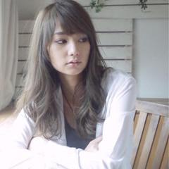 外国人風 セミロング 大人かわいい レイヤーカット ヘアスタイルや髪型の写真・画像