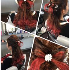 ロング エレガント 上品 ヘアスタイルや髪型の写真・画像