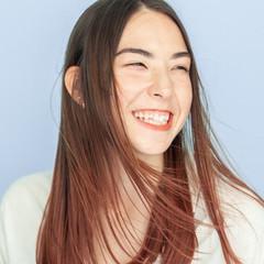 ミディアム ハイライト ストリート ブリーチ ヘアスタイルや髪型の写真・画像