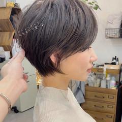 ショートヘア ショートカット ミニボブ ショート ヘアスタイルや髪型の写真・画像
