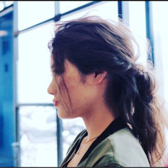 ハーフアップ ロング ショート 簡単ヘアアレンジ ヘアスタイルや髪型の写真・画像