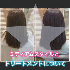 髪質改善カラー ミディアム ナチュラル 大人ロング ヘアスタイルや髪型の写真・画像