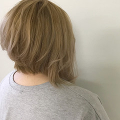 夏 涼しげ ヘアアレンジ ボブ ヘアスタイルや髪型の写真・画像