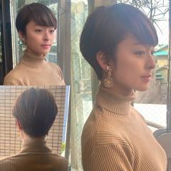 田丸麻紀 前髪 ショートヘア 大人ショート ヘアスタイルや髪型の写真・画像