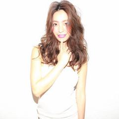 セミロング 春 夏 おフェロ ヘアスタイルや髪型の写真・画像