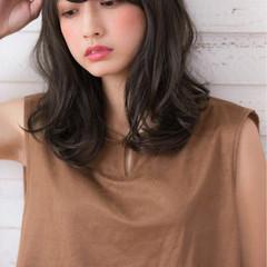 ヘアアレンジ ミディアム 大人女子 フェミニン ヘアスタイルや髪型の写真・画像