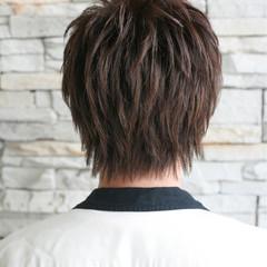 アッシュ ストリート ローライト ショート ヘアスタイルや髪型の写真・画像