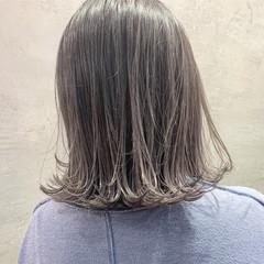 ハイライト ミディアム 成人式 ブリーチ ヘアスタイルや髪型の写真・画像