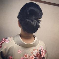 ヘアアレンジ エレガント 結婚式 上品 ヘアスタイルや髪型の写真・画像