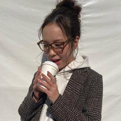 ヘアアレンジ ロング ナチュラル 韓国ヘア ヘアスタイルや髪型の写真・画像