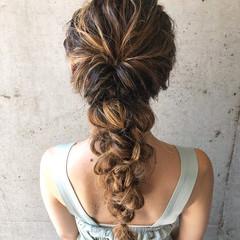ヘアセット フェミニン ゆるふわセット ロング ヘアスタイルや髪型の写真・画像