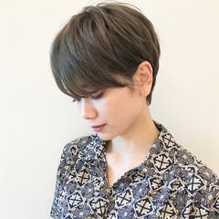 デート 簡単ヘアアレンジ ナチュラル オフィス ヘアスタイルや髪型の写真・画像