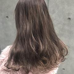 デート 透明感 フェミニン ヌーディベージュ ヘアスタイルや髪型の写真・画像