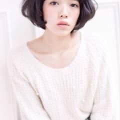 秋 モード ショート 大人かわいい ヘアスタイルや髪型の写真・画像