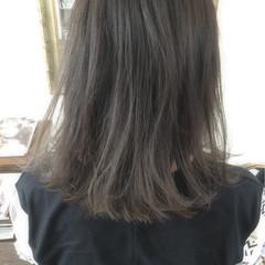 ストリート 外国人風 グラデーションカラー ミディアム ヘアスタイルや髪型の写真・画像
