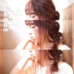 簡単ヘアアレンジ ヘアアレンジ 外国人風 ストレート ヘアスタイルや髪型の写真・画像