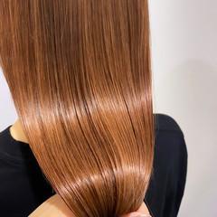 髪質改善 髪質改善カラー 髪質改善トリートメント ナチュラル ヘアスタイルや髪型の写真・画像